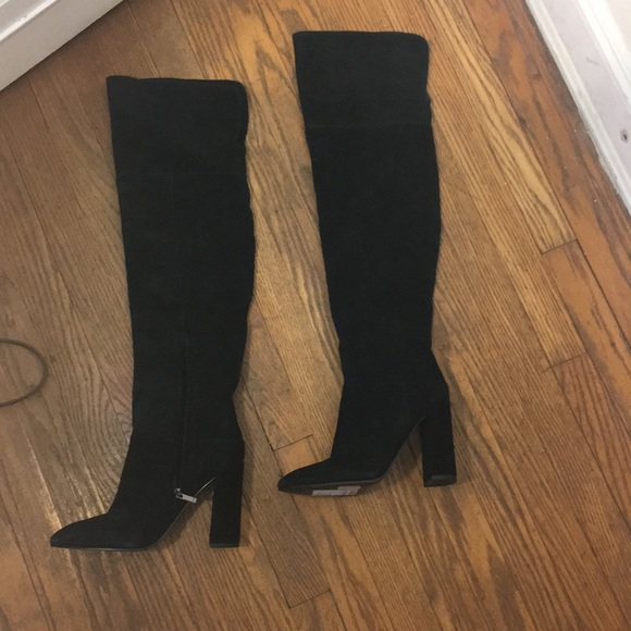 88e62233013 Marc Fisher Thigh High Black Boots